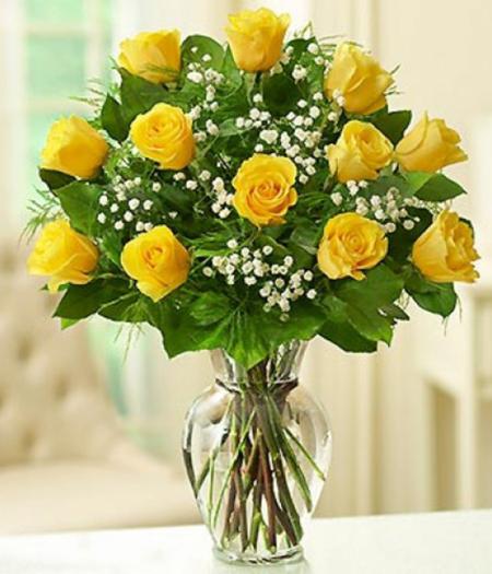 1-Dozen-Yellow-Roses