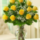 1-Dozen-Yellow-Roses